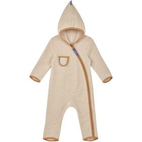 Finkid Puku Wool Overall Girls pebble/cinnamon